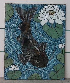Koi #fish       #mosaic
