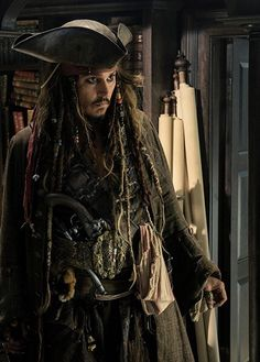 "omgjackiesparrow: ""Happy Birthday Captain! ☠️ """