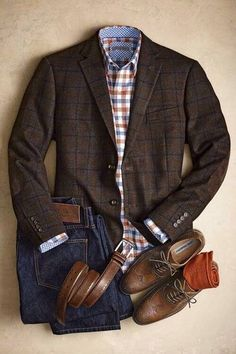 All I need is the jacket and belt and this outfit is ready to go!