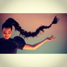 El peinado listo! #EstadosDeConciencia  ph. Silvina Frydlewsky