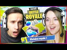 MA COPINE EST DE RETOUR ! UN TOP 1 = UN BISOU FORTNITE ! - YouTube