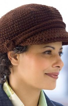 Free Crochet Visor Cap Pattern