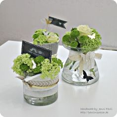 (Pauline& paper) Maybe one or the other came up with the idea to expand the board technology a bit, but I only disco Small Centerpieces, Wedding Centerpieces, Table Arrangements, Floral Arrangements, Home Grown Vegetables, Deco Floral, Table Centers, Objet D'art, Decoration Table
