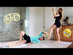 24 HOUR HANDCUFF CHALLENGE WITH PREGNANT WIFE!!! (HILARIOUS) - YouTube