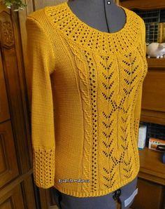 Knitting Designs, Knitting Projects, Knitting Patterns, Crochet Patterns, Knit Cardigan Pattern, Crochet Cardigan, Crochet Top, Diy Tops, Sewing Stitches