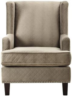 Reading nook - Ashton Wing Chair - Arm Chairs - Living Room - Furniture - Wing Chair - Modern Wing Chair - Wing Back Chair - Chairs - Wingback Chairs - Easy Chairs - Reading Chairs   HomeDecorators.com