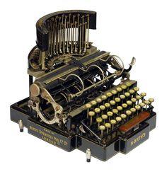 Norths   North's Typewriter Manufacturing Co. Ltd., London  1892 - serial…
