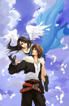 Rinoa and Squall<3