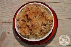 Buckwheat porridge with apple. Gluten free, vegan, egg free, dairy free reciepi