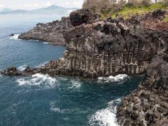 Jusangjeolli Cliff in Jeju-do Island, South Korea