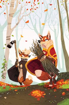 ARTIST SHOWCASE: Jérôme Queval This week Catalist showcases the uber talented Jérôme Queval, whose art reminds of our own childhood which found us nose deep in books such as Rats of NIMH, The Chronicles of Narnia, and Roald Dahl novels :) Queval's style is utterly charming and nostalgic, and we are definitely smitten by his work! Be sure to enjoy more of Jérôme's art at http://fox-n-brownsugar.tumblr.com/!