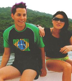 Christian Chavez con Maite Perroni :D