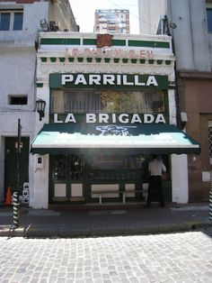 I think this was close to one of the hotels that we stayed at on our Honeymoon.  Wish we would have eaten here.  One of the best steakhouses in town @ Parilla La Brigada | Buenos Aires