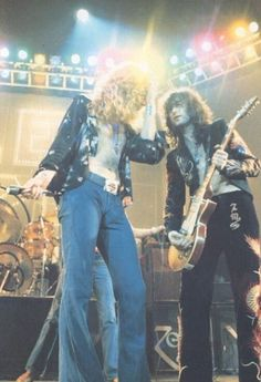 Led Zeppelin ~ Robert Plant & Jimmy Page Jimmy Page, Rock Roll, Great Bands, Cool Bands, Hard Rock, Robert Plant Led Zeppelin, John Bonham, John Paul Jones, Blues