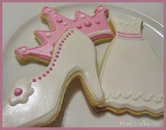 princess party cookie ideas