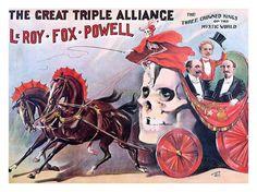 Le Roy, Fox, Powell, Vintage Magic Poster