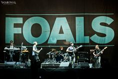 Foals @ Estadio Nacional Opening Red Hot Chili Peppers 2011, Lima-Perú