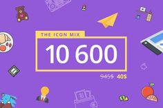 The Icon Mix 10600 by Last Spark on @creativemarket