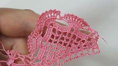 This Pin was discovered by Cle Crochet Edging Patterns, Crochet Lace Edging, Crochet Motifs, Crochet Borders, Thread Crochet, Crochet Trim, Filet Crochet, Irish Crochet, Baby Knitting Patterns