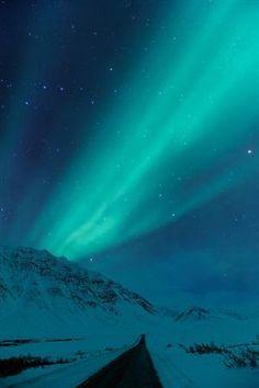 ninbra:    Aurora Borealis, Dalton Highway, Alaska.