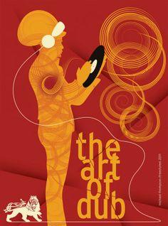 Poster Art by Michael Thompson Reggae Art, Reggae Music, Dub Music, Reggae Style, Graphic Prints, Graphic Art, Graphic Design, Rasta Art, Michael Thompson