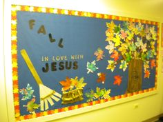 Fall Bulletin Board #Christian #Preschool #classroom #kids