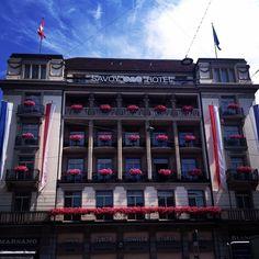 Savoy Hotel in Zurich
