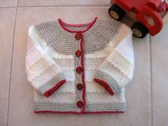 Ravelry: sofiecat's Shades of neutral baby cardi