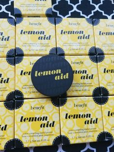 Benefit Cosmetics Lemon Aid Color Correcting Eyelid Primer .09 Oz Discontinued  | eBay