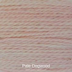 A ColourSpun Pure Cotton yarn and embroidery thread colour swatch. This colour is called Pale Dogwood and is available on all our cotton bases. #colourspun #yarn #colour #colorinspiration Yarn Colors, Colours, Colour Swatches, Super Chunky Yarn, Fabric Yarn, Embroidery Thread, Color Inspiration, Fabric Design, Create Your Own