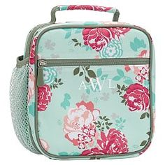 Pottery Barn Teen Gear-Up Pool Garden Party Floral Classic Lunch Lunch Containers, Food Storage Containers, Lunch Boxes, Floral Backpack, Pb Teen, Bags For Teens, Pottery Barn Teen, Planters, Patio