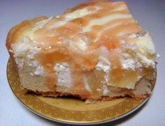 Творожно-ананасовый пирог