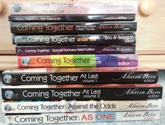 Super #sale - set of 10 Coming Together titles on eBay! Come Play With Me, Come Together, Donate To Charity, Romance Books, The Cure, Writing, Ebay, Romance Novels, Composition