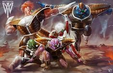Ginyu Force Dragon Ball Z by Wizyakuza