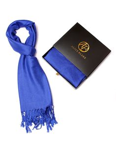 Alice Blake Premium Pashmina Scarf Shawl Wrap Soft Luxurious With Free Gift Box * You can find more details by visiting the image link.