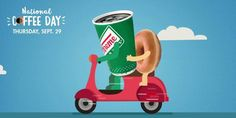29 Sep 2016: Krispy Kreme National Coffee Day Promotion