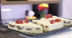 Grapes cheesecake