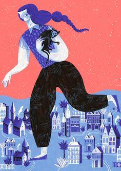 artwork by  Gosia Herba - #illustration