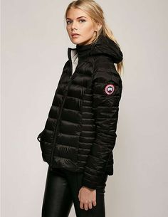 black Canada Goose Brookvale Jacket Canada Goose Fashion 1b80ef3ad0