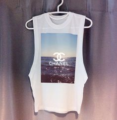 LIMITED CHANEL New York nyc Cutoff Tee DIY dope by TheCarbonTees