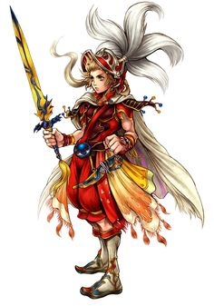 Onion Knight - Dissidia: Final Fantasy