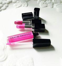 You're A Masterpiece! Lips Poppin Like 👄💋 Colours: Misaki,  Cherry Blossom,  GoGo www.takiemoto.com