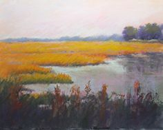 Golden Glow. by Tatiana Myers in the FASO Daily Art Show