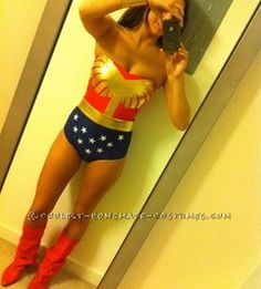 Y Homemade Wonder Woman Costume Idea