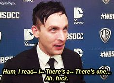 Robin Lord Taylor GIF HUNT This gif hunt contains gifs of Robin Lord Taylor. None of these gifs are mine and I take no credit for them. If any of the gifs are yours, feel free to send me an ask. Penguin Gotham, Robin Taylor, Gotham Cast, Fox Tv Shows, Lord & Taylor, Beautiful People, Gifs, It Cast, Fandoms