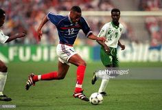 World's Best France Vs Saudi Arabia In 1998 Stock Pictures, Photos, and Images - Getty Images Stock Pictures, Stock Photos, France Vs, Thierry Henry, Garra, Saudi Arabia, Image Collection, Football Players