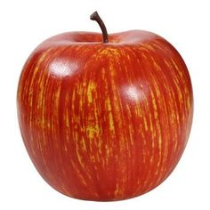 Decorative Plastic Red Apple, 3""