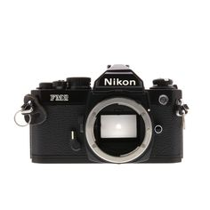 Are you looking for the perfect film camera to add to your collection? The Nikon is back in stock! A semi-professional film SLR and the pinnacle for reliability. It's equipped with an all mechanical shutter with a full-range of speeds! Vlogging Equipment, Camera Equipment, 35mm Camera, Camera Gear, Nikon Cameras, Shutter Designs, Off Camera Flash, Camera Hacks, 35mm Film
