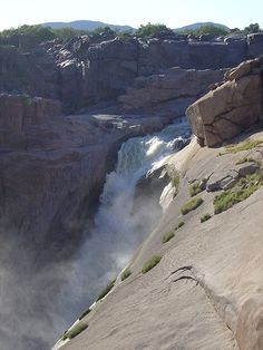 Augrabies Falls in South Africa   Stunning Places #Places