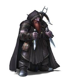 Duergar Backstabber - Dwarf by RogierB on DeviantArt